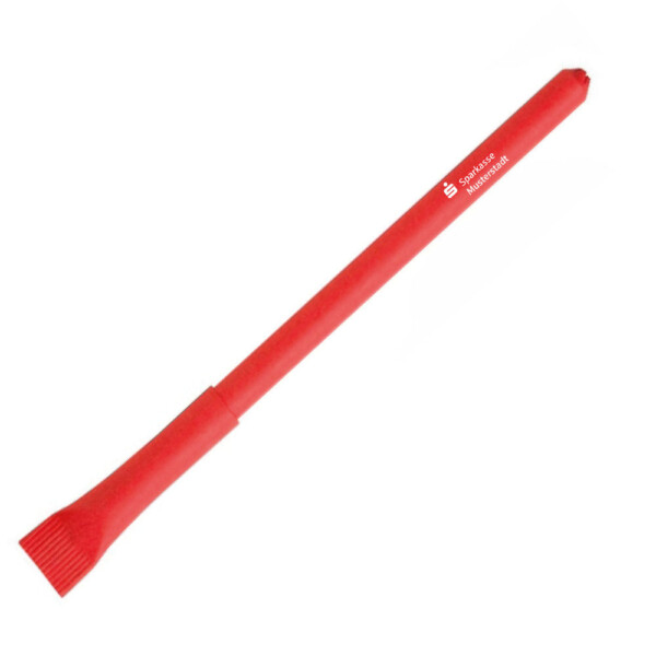 Papier-Kugelschreiber mit Verschlusskappe