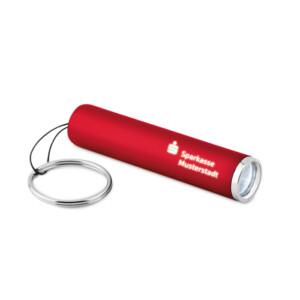 LED-Taschenlampe mit Schlüsselring