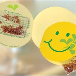 Smiley- Klappkärtchen